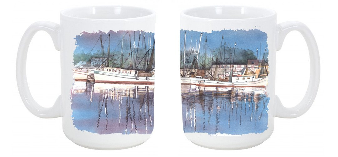 Buy this Harbour Dishwasher Safe Microwavable Ceramic Coffee Mug 15 ounce 8112CM15