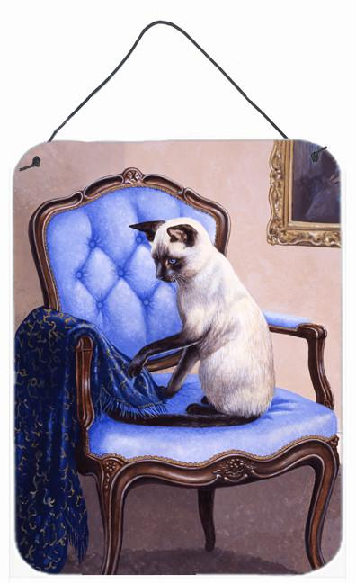 Buy this On The Chair Siamese cat Wall or Door Hanging Prints BDBA0273DS1216