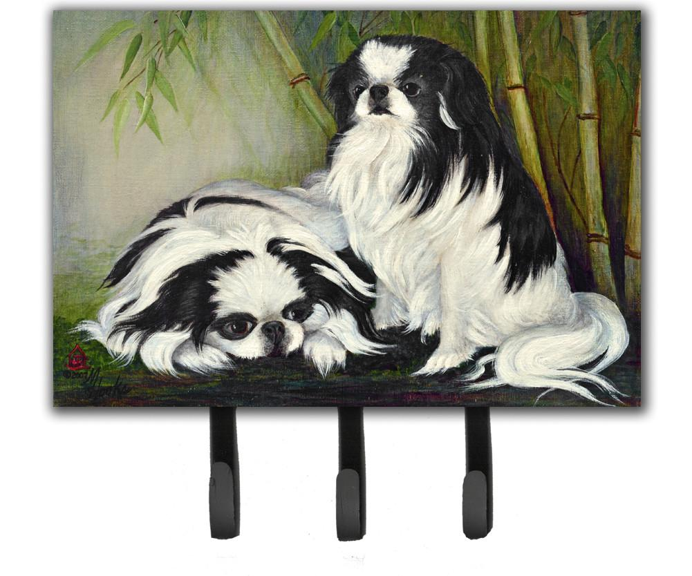 Japanese Chin Bamboo Garden Leash or Key Holder MH1044TH68 by Caroline's Treasures
