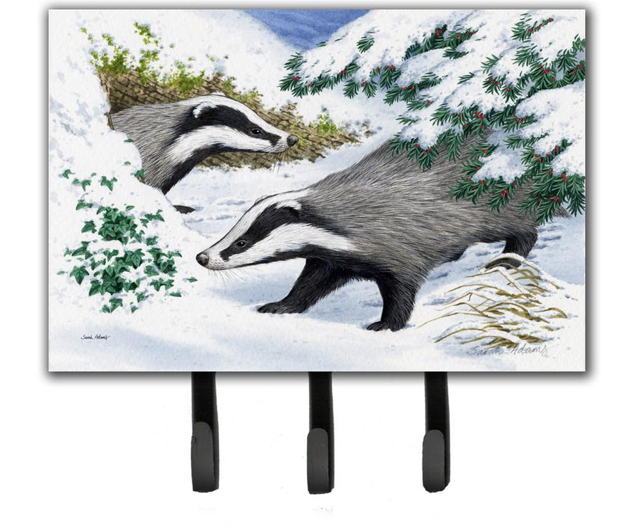 Buy this Badgers in the snow Leash or Key Holder ASA2182TH68