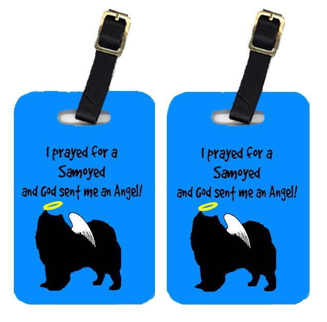 Pair of 2 Samoyed Luggage Tags by Caroline's Treasures