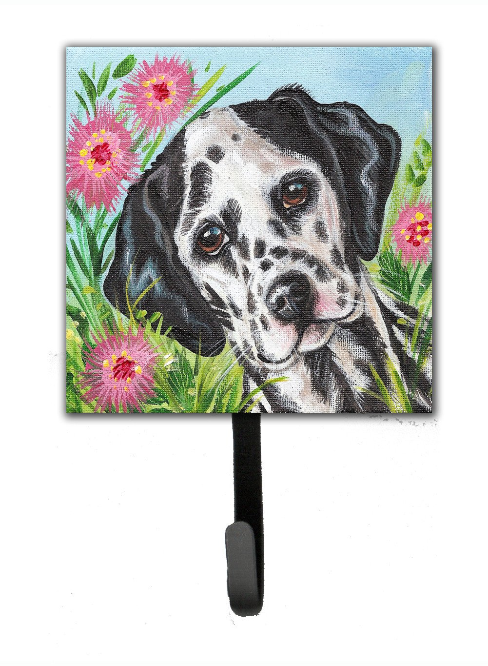 Buy this Dalmatian by Judith Yates Leash or Key Holder JYJ0191SH4