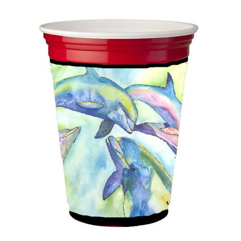 Buy this Dolphin  Red Solo Cup Beverage Insulator Hugger