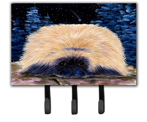 Buy this Starry Night Pekingese Leash Holder or Key Hook