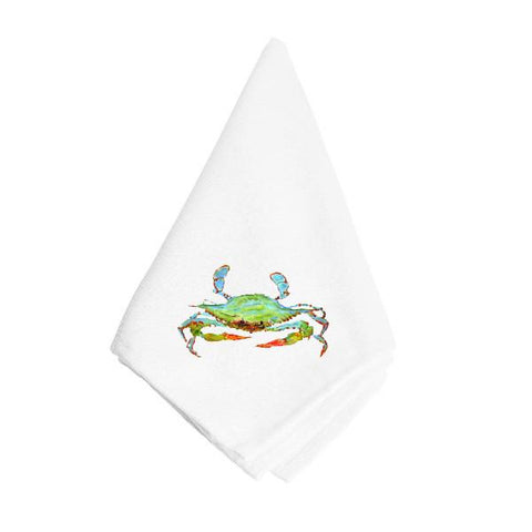 Buy this Bright Green Blue Crab Napkin 8357NAP
