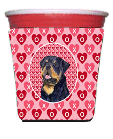 Buy this Rottweiler  Red Solo Cup Beverage Insulator Hugger