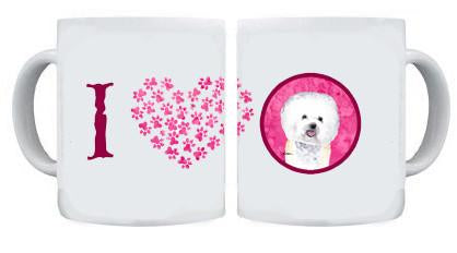 Bichon Frise Dishwasher Safe Microwavable Ceramic Coffee Mug 15 ounce by Caroline's Treasures