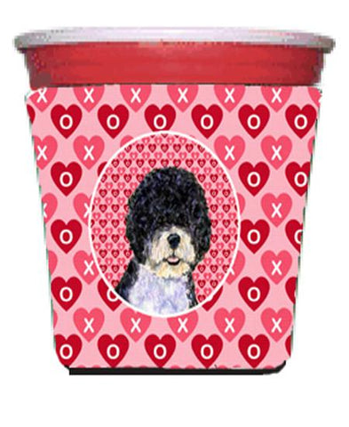 Buy this Portuguese Water Dog  Red Solo Cup Beverage Insulator Hugger