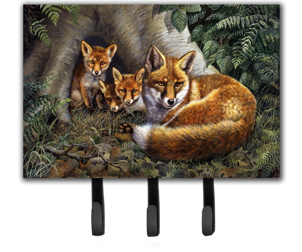 Buy this A Family of Foxes at Home Leash or Key Holder BDBA0283TH68