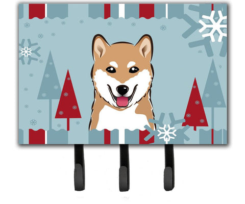 Buy this Winter Holiday Shiba Inu Leash or Key Holder BB1721TH68