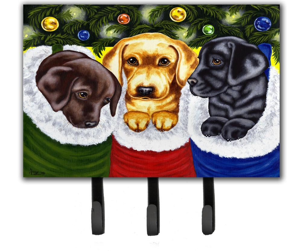Buy this Christmas Stocking Surprise Labrador Leash or Key Holder AMB1315TH68