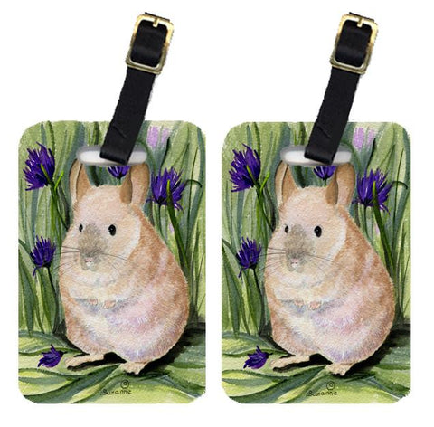 Buy this Pair of 2 Chinchilla Luggage Tags