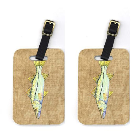 Buy this Pair of Snook Luggage Tags