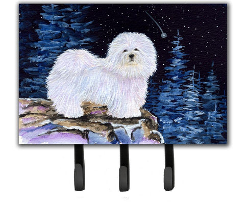 Buy this Starry Night Coton de Tulear Leash Holder or Key Hook