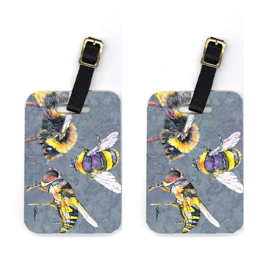 Buy this Pair of Bee Bees Times Three Luggage Tags