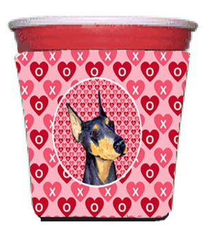 Buy this Doberman  Red Solo Cup Beverage Insulator Hugger