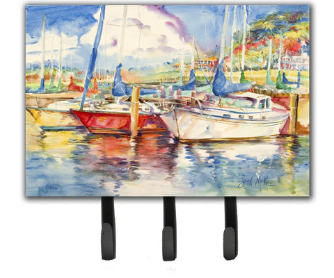 Buy this Three Boats Sailboats Leash or Key Holder JMK1034TH68