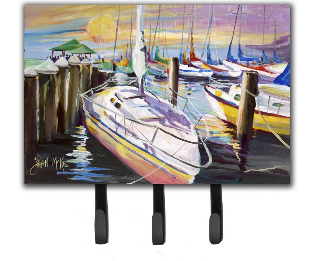 Buy this Sailboats at the Fairhope Yacht Club Docks Leash or Key Holder JMK1044TH68