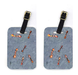 Buy this Pair of Ants Luggage Tags