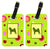 Pair of 2 Shiba Inu Luggage Tags by Caroline's Treasures
