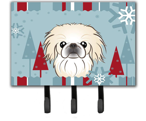 Buy this Winter Holiday Pekingese Leash or Key Holder BB1717TH68