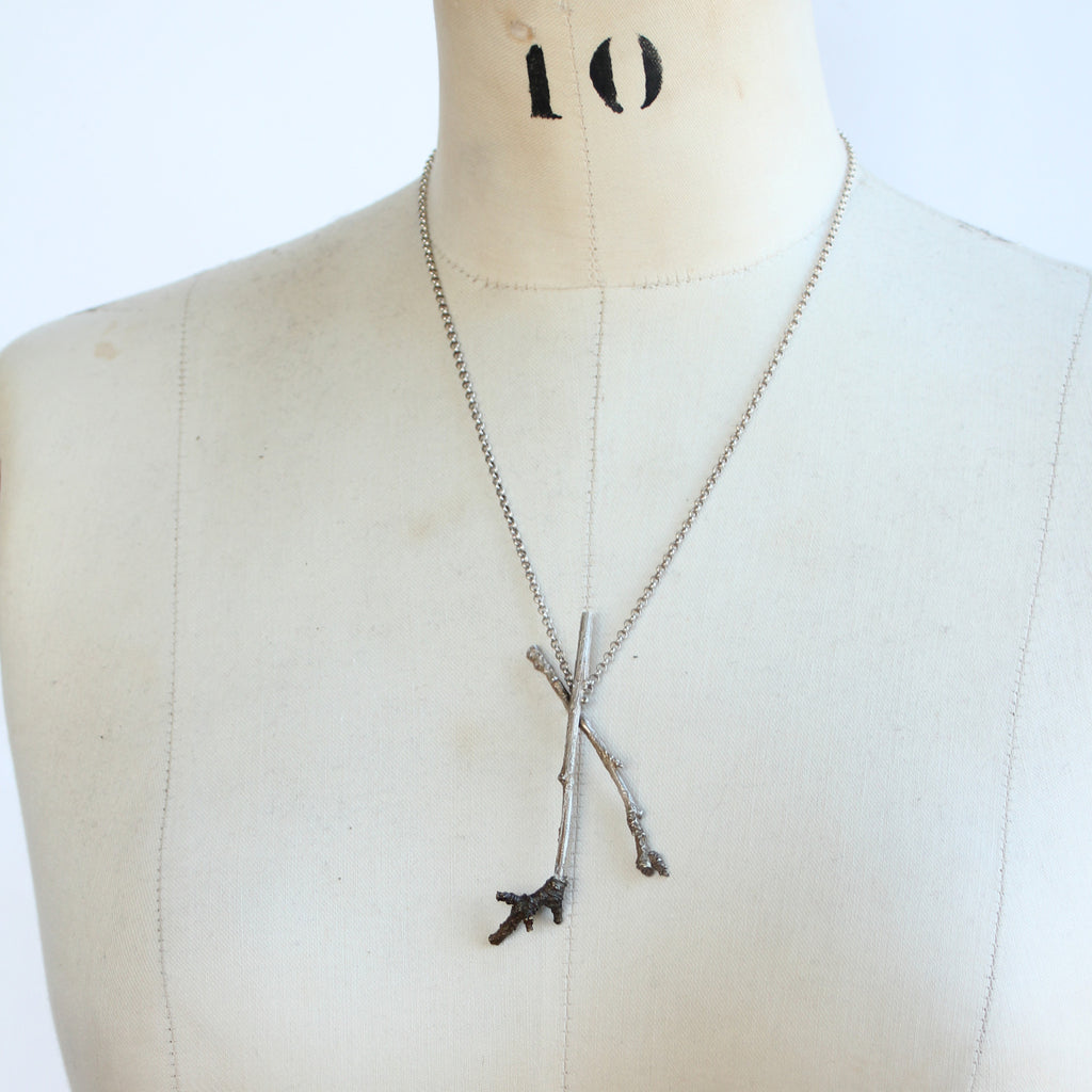 Sticks and Stones Necklace #1