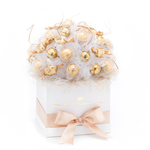 Bright Deluxe Ferrero Rocher, Lindt & Godiva Chocolate Bouquet