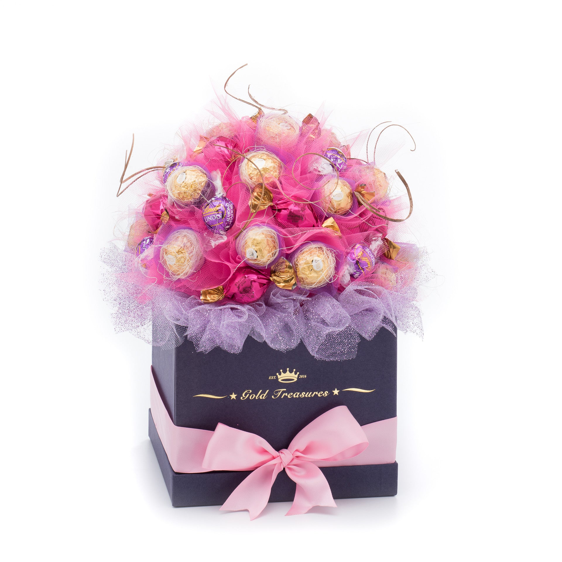 Candy Crush: Raffaelo, Godiva & Lindt Chocolate Gift Basket