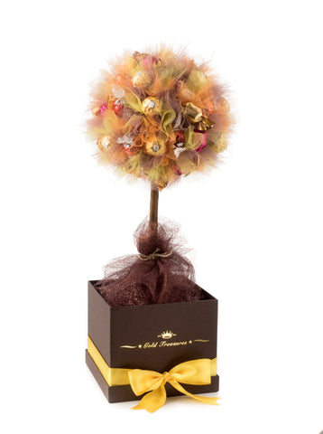 Touch Of Autumn: Lindt & Godiva Chocolate Tree