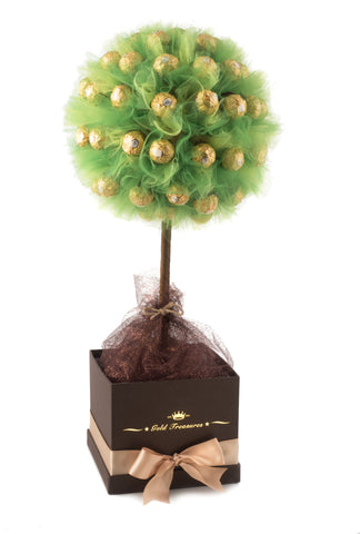 Taste Of Golden Green: Ferrero Rocher Chocolate Tree