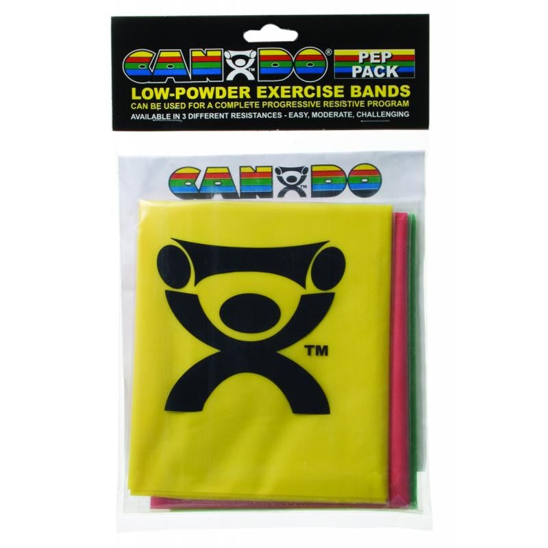 CanDo® Latex-Free Exercise Band - PEP™ Pack