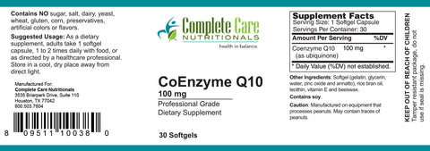 Image of CoEnzyme Q10 / 100mg