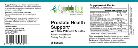 Prostate Health Support