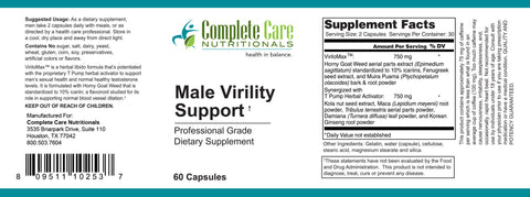 Image of Male Virility Support