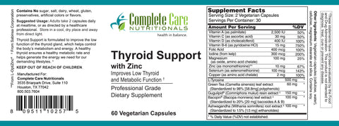 Image of Thyroid Support with Zinc