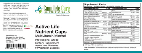 Image of Active Life Nutrient Capsules