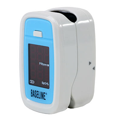 Baseline® Fingertip Pulse Oximeter, Standard (2 AAA batteries included)