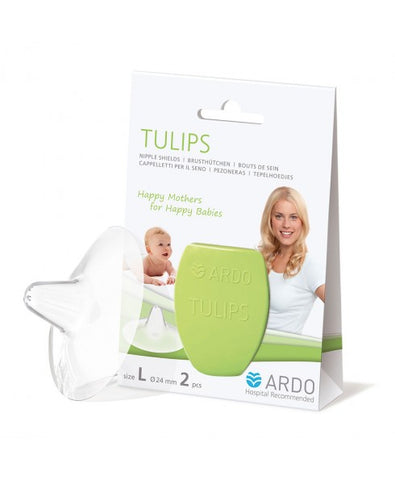 Image of Tulips Contact Nipple Shields