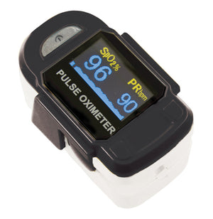 Baseline® Fingertip Pulse Oximeter, Deluxe (2 AAA batteries included)