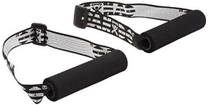CanDo® Handle with Adjustable Webbing for Band/Tubing (1 pair)