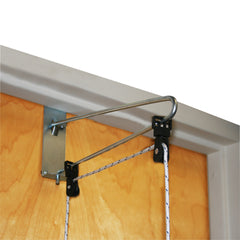 CanDo® Overdoor Shoulder Pulley - Double Pulley with Door Bracket