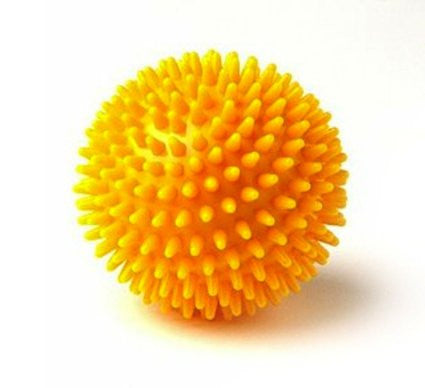 Massage ball, 8 cm (3.2 inches), Yellow