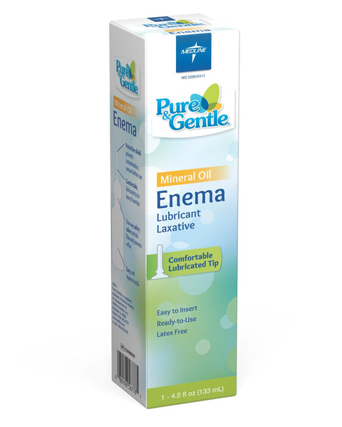 ENEMA,MINERAL OIL,CURAD®,1/PK,24PK/CS