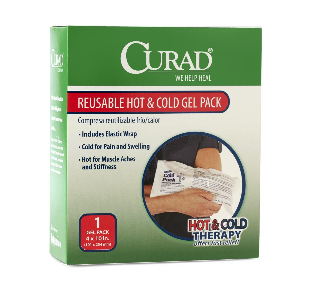 PACK,HOT/COLD,CURAD®,RETAIL W/COVER