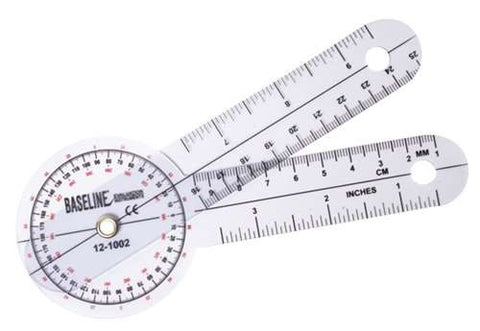 Image of Baseline® Plastic Goniometer - 360 Degree Head