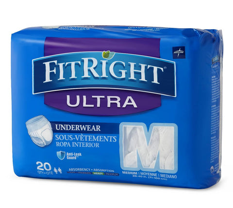 FitRight Ultra Protective Underwear | Moderate Absorbency