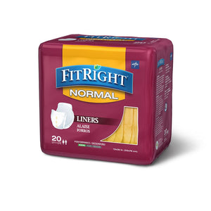 FitRight Liners Normal, Moderate Absorbency 13X30