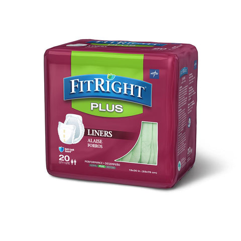 Image of FitRight Liners Plus, Heavy Absorbency 13X30