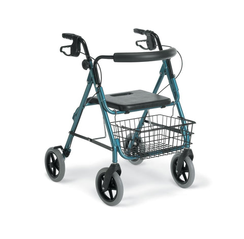 Image of ROLLATOR,GUARDIAN,DELUXE,ALUMINUM,BLUE