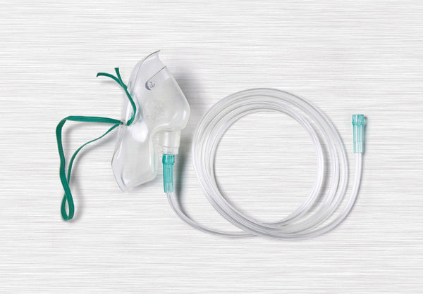 MASK,OXYGEN,MED. CONCEN,ADULT,7' TUB